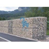 China Rubble / Stone Filled Steel Gabion Baskets Wire Cages For Landscaping wholesale