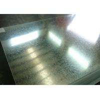 China High Strength Hot Dip Zinc Coated Steel Sheet Width 600mm - 1250mm wholesale