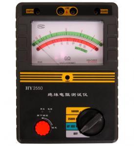 China 2500V 5000V Insulation Tester HY2550 wholesale