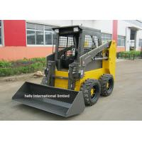 China Bucket Type SL50 Skid Steer Equipment Xinchai 485 Engine With Concrete Mixer on sale