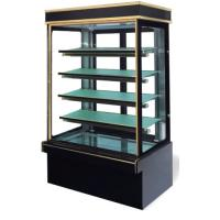 China Commercial Vertical Cake Display Fridge / Refrigerated Showcase For Bakery Store wholesale