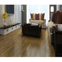 China wear resistant, non-slip cheap wood grain embossed PVC vinyl flooring planks wholesale