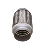 China Auto Accessory 63mm Stainless Steel Exhaust Parts Pipe Flex Joint Tube For Muffler wholesale