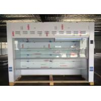 Buy cheap White PP Hood For Chemical Laboratory , Lab Fume Hood 800mm Width Floor Mounted from wholesalers