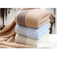 China Household Terry Cotton Bath Towels For Adults Super Absorbent 70*140cm on sale