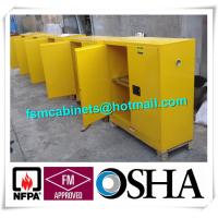 Quality Flammable Chemical Storage Cabinets / Fireproof Storage Cabinets For Chemical for sale