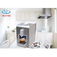 China 220 - 240V Red / Silver Espresso Coffee Brewer Machine Elegant Appearance Design on sale