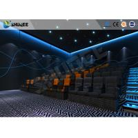 China ISO Certificate 4D Dynamic Cinema Equipment With Pneumatic Customize Motion Chairs wholesale