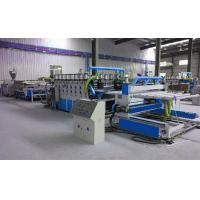 China Fully Automatic Plastic Sheet Making Machine / PVC Foam Plate Making Machine wholesale