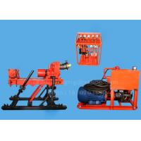 China 350m Fully Hydraulic Underground Drill Rigs , Diamond Core Drilling Rig JKD4000S wholesale