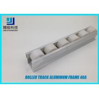 China Aluminum Roller Track Flow Rail Roller Gravity Conveyor With PE Rollers 40A wholesale