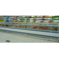 China Frozen Food Supermarket Island Freezer / Sea Food Display Counter Cabinet Freezer wholesale