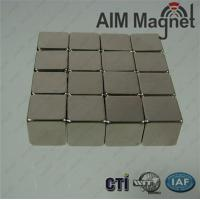 "China Strong Block N42 NdFeB Magnet  1/2 "" x 1/8 "" x 1/8 "" on sale"