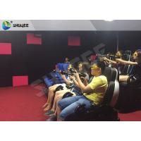 China Electric 7D Cinema System multi - screen Luxury Seats In Museum , Mall wholesale