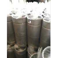 China 20L US Sixth Stainless Steel Beer Keg With Logo Print Twice Welding Neck wholesale