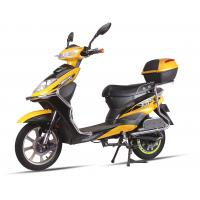 China Aowa 2 Wheel Adult Electric Scooter 150 Kg Yellow Motorized Electric Scooter Bicycle wholesale