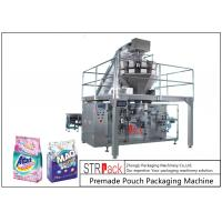 China Powder / Granules Premade Pouch Packaging Machine High Efficiency With Linear Weigher wholesale