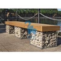 China Easy Installation Steel Gabion Baskets Welded Stone Gabion Chair For Landscape wholesale