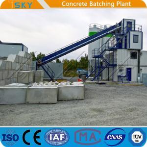 China PLD4800 Aggregate Batcher HZS180 Concrete Batch Mix Plant wholesale