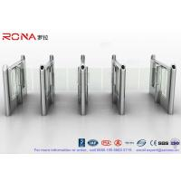 Quality Stylish Optical Speed Gate Turnstile Bi - Directional Pedestrian Queuing Systems for sale