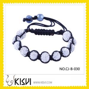 China Fashion Shamballa Crystal Bracelet wholesale