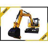 China 18.4kw Engine Power Mini Construction Equipment Excavator With 3 Cylinder High Performance wholesale
