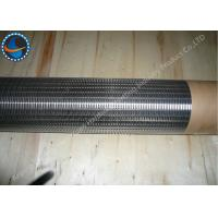China Johnson Screens Products Stainless Steel Wedge Wire Screen Anti Corrosive wholesale