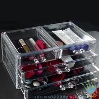 China acrylic makeup storage containers wholesale