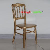 China Wholesale Cheap China Gold Color Solid Wood Napoleon Party Wedding Chair wholesale