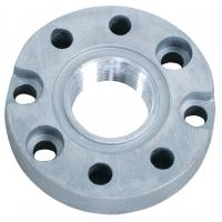 China Silver Steel Forged Flange For Fuel Transfer Pump wholesale