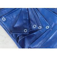 China Sunproof Geomembrane Pond Liner 230gsm PE Tarpaulin Cover Blue Color wholesale