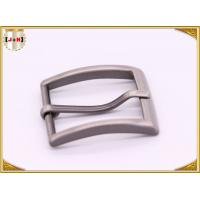 Quality Single Prong Square Metal Fashion Belt Buckles Zinc Alloy Nickel Plating for sale