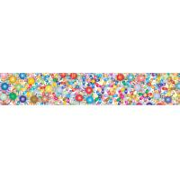 China 2x12.25 Inches Rulers 3D Lenticular Printing Service With Multicolored Spinning Wheels wholesale
