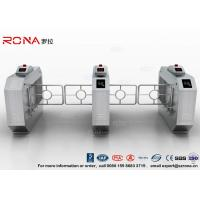 China RFID Automatic Swing Barrier Gate Smart Arm Revolving Door Security Access Control Turnstile wholesale