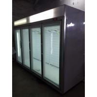Quality CE / RoHS Greenhealth Glass Door Freezer Environmentally Friendly for sale