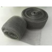 China 98% Efficiency Stainless Steel Knitted Wire Mesh Demister Pad Flat / Corrugated Surface wholesale