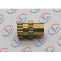 Buy cheap 0.315in X 0.473in CNC Turned Parts Brass Knurled Bolts With Through Hole from wholesalers