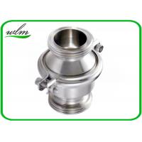 China Sanitary SS Check Valve , High Temperature Check Valve With Male Thread End wholesale
