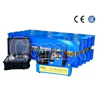 PLC Touch Portable Conveyor Belt Vulcanizer , Water Hydraulic Vulcanizing Machine