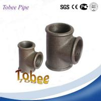 China Malleable iron fittings equal tee wholesale