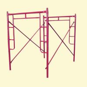 China Q235 Q345  H Frame Scaffolding System / walk through scaffolding wholesale