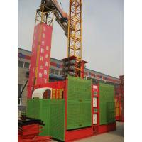 China SC200 2 Ton Building Material / Passenger Hoists, Construction Building Site Hoist wholesale