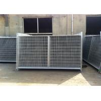 China 2.1m x 3.3m 3.5m widht Auckland temp construction site secuirty fence wholesale