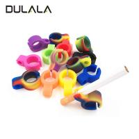 Buy cheap Hot sale Fashionable OEM Silicone Holder Silicone Ring Cigarette Holder from wholesalers