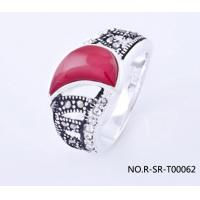 China fashion silver ring wholesale