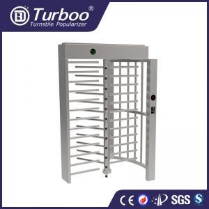 China Full Height Electronic Turnstile Gates Minimal Maintenance For Stadiums wholesale