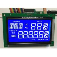 STN 7 Segment LCD Panel Screen White LED Chip PCB Board ISO14001 Approved