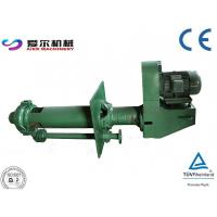 China High Density Vertical Slurry Pump / Vertical Sewage Pump High Chrome Alloy Material   wholesale
