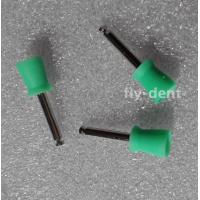 Quality 100pcs Dental Disposable Latch type Polishing Polisher Prophy Cups Green for sale
