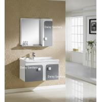 China Side Mirror Cabinet All In One Bathroom Vanity Thin Top Or Polymarble wholesale